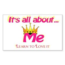 RK It's All About Me Rectangle Decal