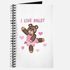 I LOVE BALLET Journal