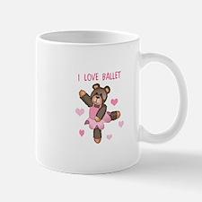 I LOVE BALLET Mugs