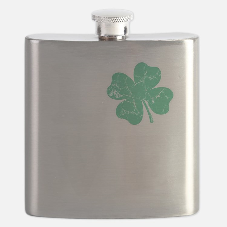 Love St. Pattys Day Flask