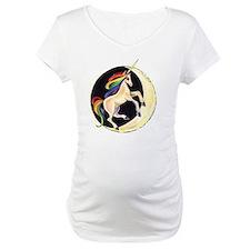 Rainbow Unicorn on Moon Shirt