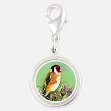 Goldfinch Bird Watercolour Charms