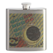 retro geeky electronics Flask