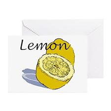 Lemon Greeting Cards (6)