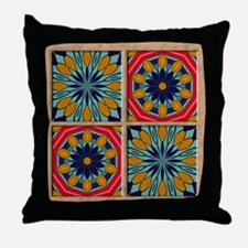 SANTA FE TILES Throw Pillow