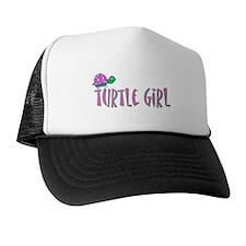 Turtle Girl Trucker Hat