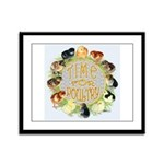 Time For Poultry2 Framed Panel Print
