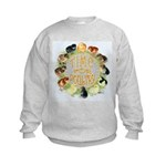 Time For Poultry2 Kids Sweatshirt