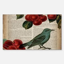 botanical print bird cherry Decal