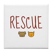 Rescue Tile Coaster