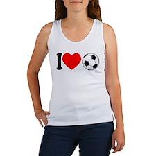 I Heart Soccer Women's Tank Top
