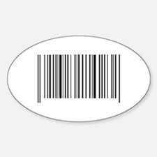 BAR CODE Decal