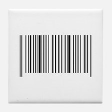 BAR CODE Tile Coaster