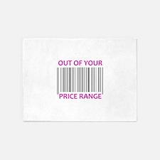 YOUR PRICE RANGE 5'x7'Area Rug