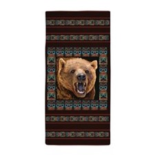 GRIZZLY BEAR Beach Towel