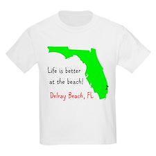 Cute Beach palm trees T-Shirt