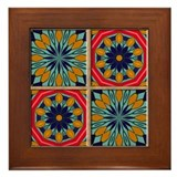 Mexican tiles Framed Tiles