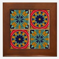 SANTA FE TILES Framed Tile