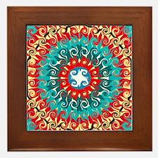RADIANT SUN Framed Tile