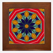 DESERT FLOWER Framed Tile