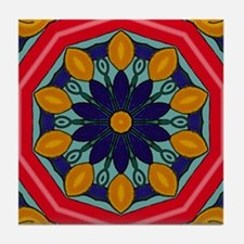 DESERT FLOWER Tile Coaster