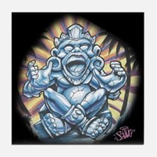 Warrior Aztec Tattoo Tile Coaster