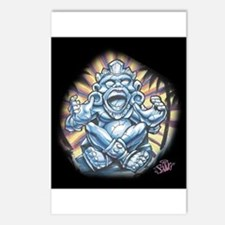 Warrior Aztec Tattoo Postcards (Package of 8)