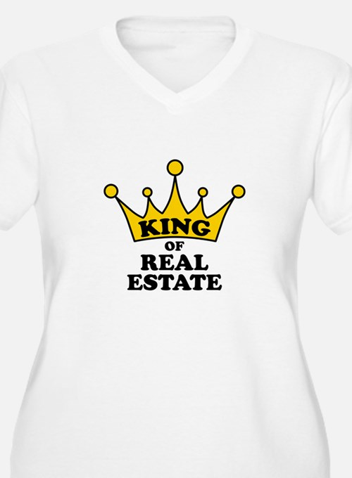 King of Real Women's Plus Size D Plus Size T-Shirt