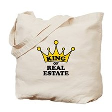 King of Real Estate Tote Bag