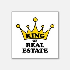 King of Real Estate Sticker