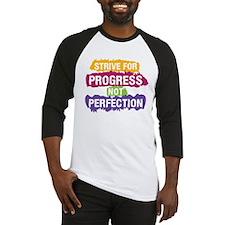 Strive for Progress Baseball Jersey