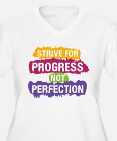 Strive for Progress Plus Size T-Shirt