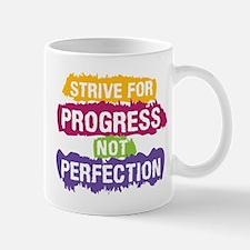 Strive for Progress Mugs