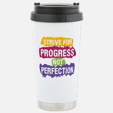 Strive for Progress Stainless Steel Travel Mug