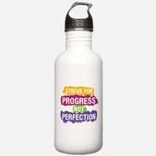 Strive for Progress Water Bottle