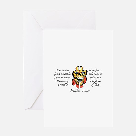TO ENTER HEAVEN Greeting Cards