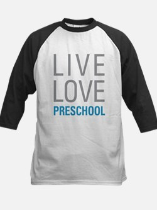 Live Love Preschool Baseball Jersey