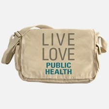 Public Health Messenger Bag