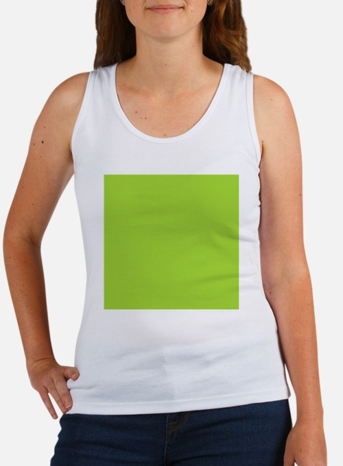cute Neon Green Women's Tank Top