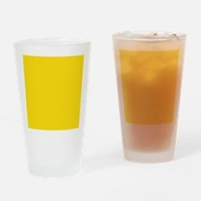 abstract bold yellow Drinking Glass