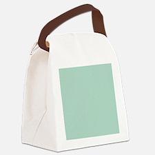 beach seafoam green Canvas Lunch Bag