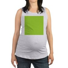 cute Neon Green Maternity Tank Top