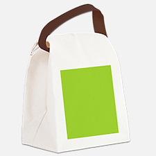 cute Neon Green Canvas Lunch Bag