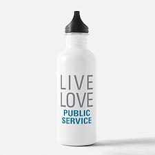 Public Service Water Bottle