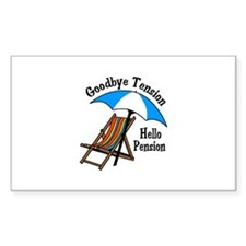 Goodbye Tension Decal