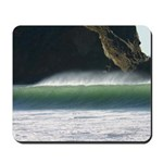 northern california curling wave mousepad