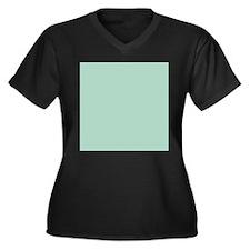 beach seafoam green Plus Size T-Shirt