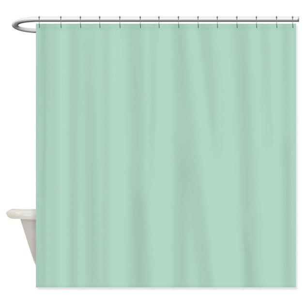 beach seafoam green shower curtain by admin cp62325139