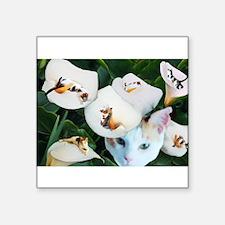 Cala in Callas Rectangle Sticker