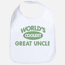 Coolest GREAT UNCLE Bib